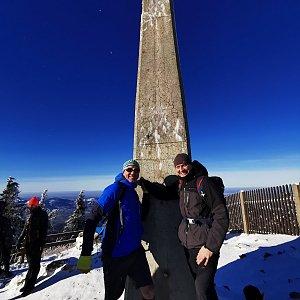 Václav Skuplík na vrcholu Lysá hora (27.12.2020 12:43)