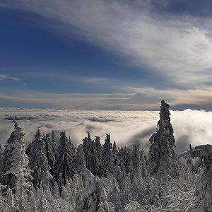 Fíkus na vrcholu Lysá hora (31.12.2020 14:00)