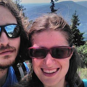 Pavla Lžičařová na vrcholu Lysá hora (12.8.2018 12:00)