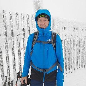 MUDr.Svatopluk Kunčar na vrcholu Lysá hora (6.1.2021 13:14)