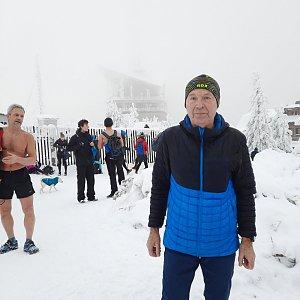 MUDr.Svatopluk Kunčar na vrcholu Lysá hora (9.1.2021 13:01)