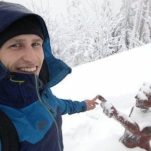 Šroťák na vrcholu Lysá hora (27.12.2018 11:00)