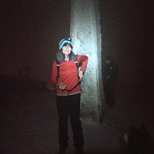 Jana Mayerová na vrcholu Lysá hora (31.12.2018 20:37)