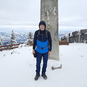 MUDr.Svatopluk Kunčar na vrcholu Lysá hora (12.1.2021 12:27)