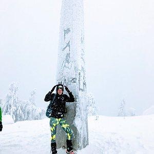 Andulka na vrcholu Lysá hora (5.1.2019 10:51)