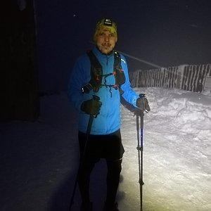 Ivoš na vrcholu Lysá hora (18.1.2021 16:45)