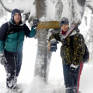 Valcenzo na vrcholu Lysá hora (13.1.2019 15:30)