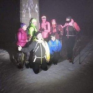 Ivoš na vrcholu Lysá hora (22.1.2021 17:45)