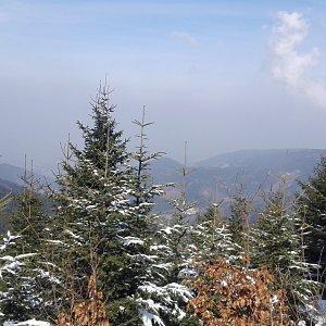 BarůůŠ Heczková na vrcholu Lysá hora (24.3.2018)