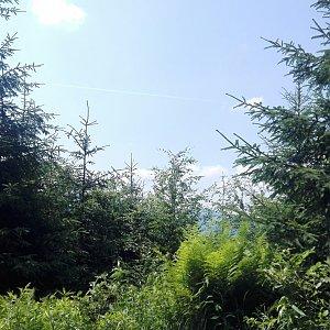 BarůůŠ Heczková na vrcholu Lysá hora (19.6.2018)