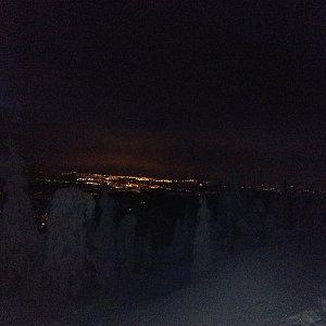 Šárka na vrcholu Lysá hora (14.1.2019 17:05)