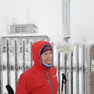 MUDr.Svatopluk Kunčar na vrcholu Lysá hora (26.1.2021 12:18)