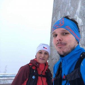 Ivoš na vrcholu Lysá hora (28.1.2021 15:41)