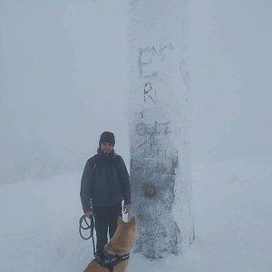 Johny na vrcholu Lysá hora (16.1.2019 13:50)
