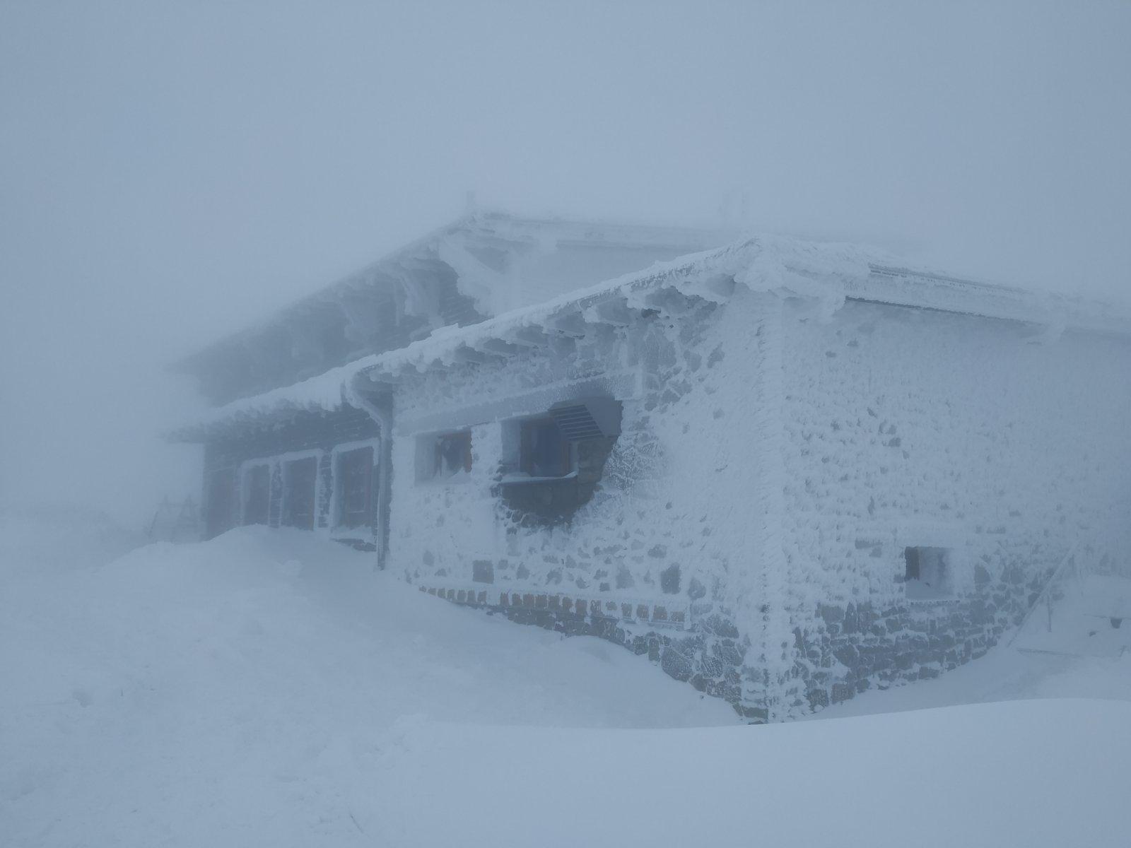 Pajulka na vrcholu Lysá hora (16.1.2019 14:45)