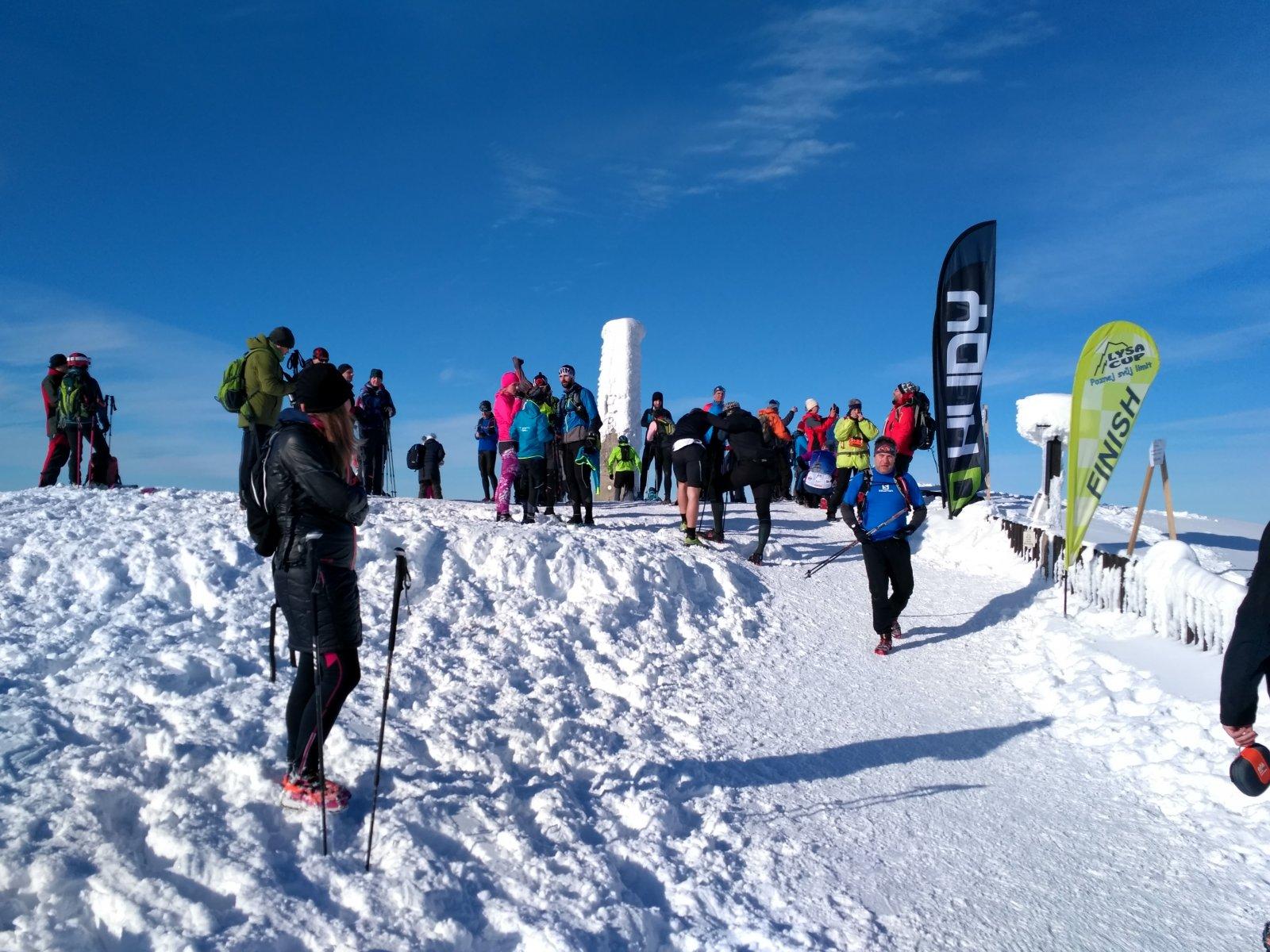 Alda na vrcholu Lysá hora (19.1.2019 11:13)