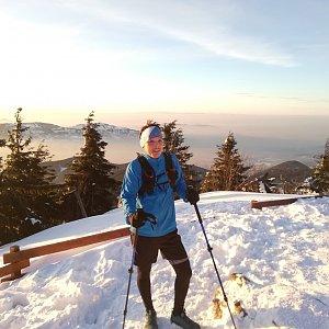 Ivoš na vrcholu Lysá hora (1.2.2021 16:07)