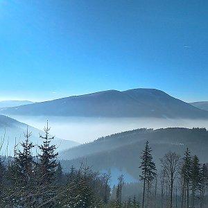 Milan Meravy na vrcholu Lysá hora (21.1.2019 14:20)