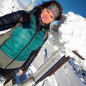 Priserka-xxl na vrcholu Lysá hora (21.1.2019 6:00)