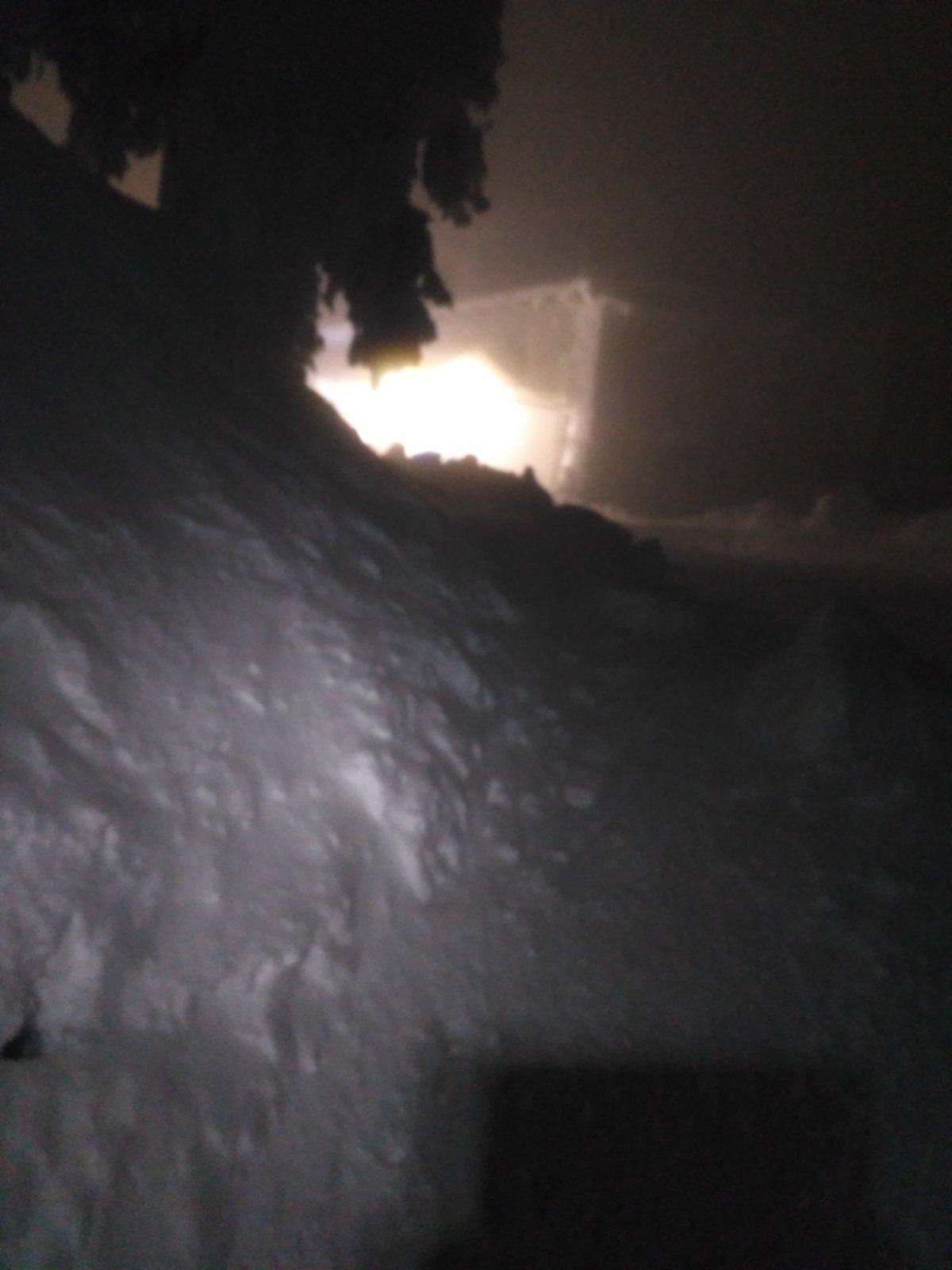 Alda na vrcholu Lysá hora (27.1.2019 0:20)