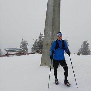 Ivoš na vrcholu Lysá hora (16.2.2021 16:24)