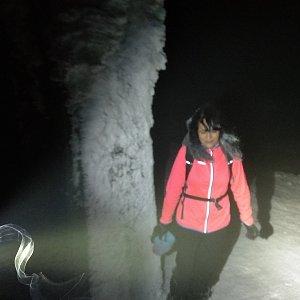 Jana Mayerová na vrcholu Lysá hora (24.1.2019 18:52)