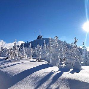 Jiří Nesit na vrcholu Lysá hora (30.1.2019 14:00)