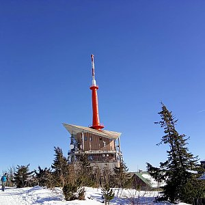 Milan Meravy na vrcholu Lysá hora (22.2.2021 9:45)