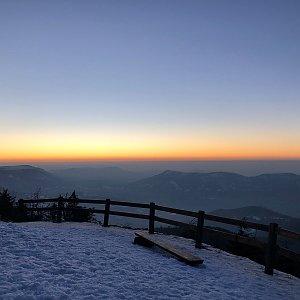 Dominika Turčeková na vrcholu Lysá hora (22.2.2021 17:15)