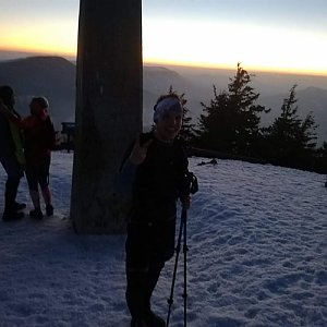 Ivoš na vrcholu Lysá hora (22.2.2021 17:44)
