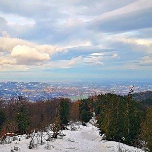 Jiří Nesit na vrcholu Lysá hora (2.2.2019 6:55)