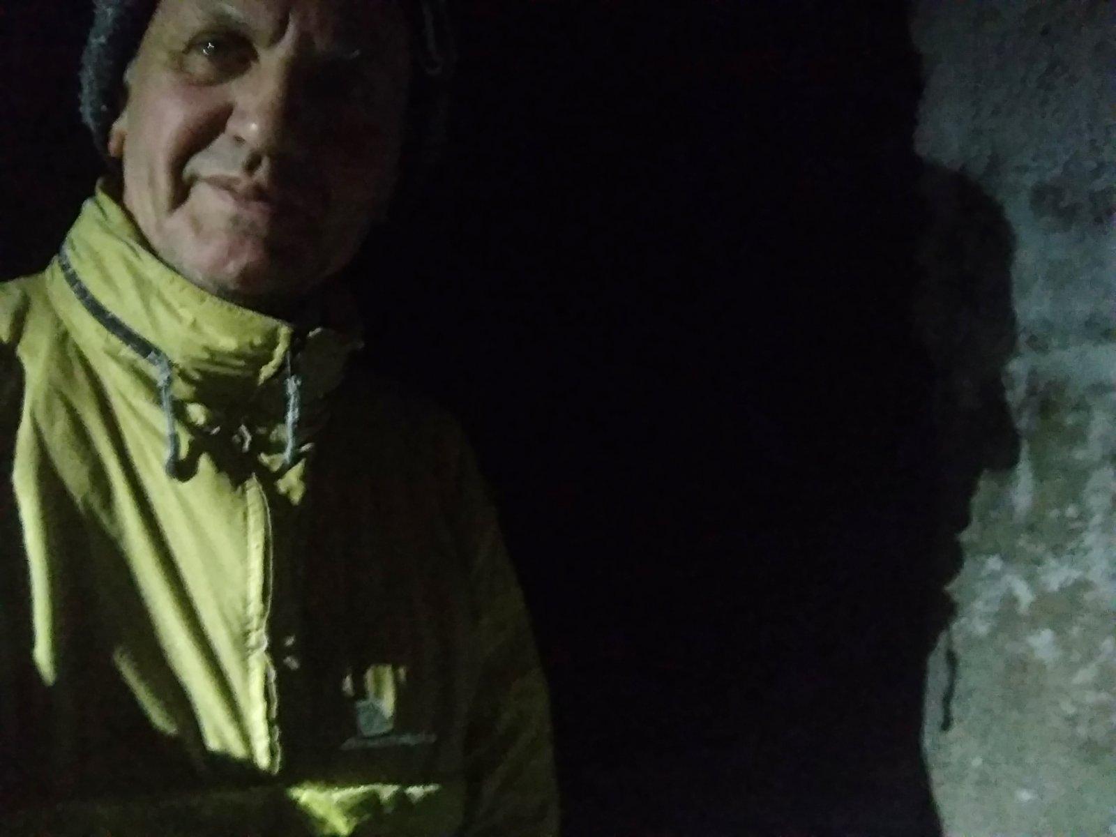 Joch a Dingo na vrcholu Lysá hora (10.1.2019 18:56)