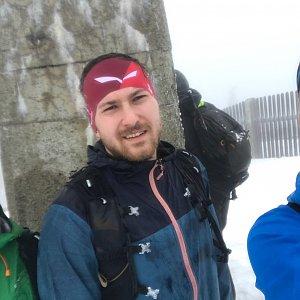 Dominika Turčeková na vrcholu Lysá hora (27.2.2021 14:00)
