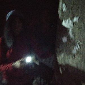Jana Mayerová na vrcholu Lysá hora (31.1.2019 18:25)