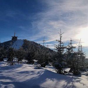 Jiří Nesit na vrcholu Lysá hora (6.2.2019 15:10)