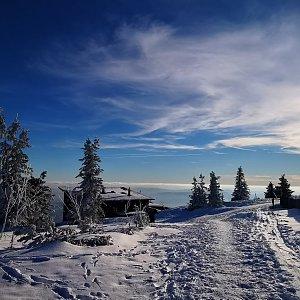 Jiří Nesit na vrcholu Lysá hora (7.2.2019 14:50)