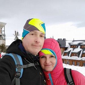 I+L Rajnochovi na vrcholu Lysá hora (9.2.2019 13:35)