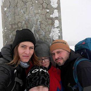 Petule na vrcholu Lysá hora (13.2.2019 13:21)