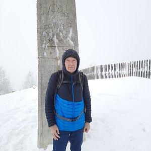 MUDr.Svatopluk Kunčar na vrcholu Lysá hora (18.3.2021 15:10)