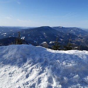 Legi96 na vrcholu Lysá hora (16.2.2019 10:45)