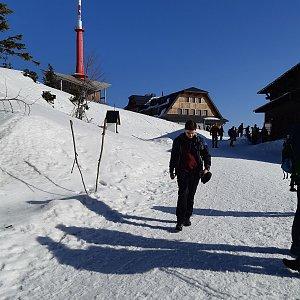 Syzu13 na vrcholu Lysá hora (16.2.2019 10:45)