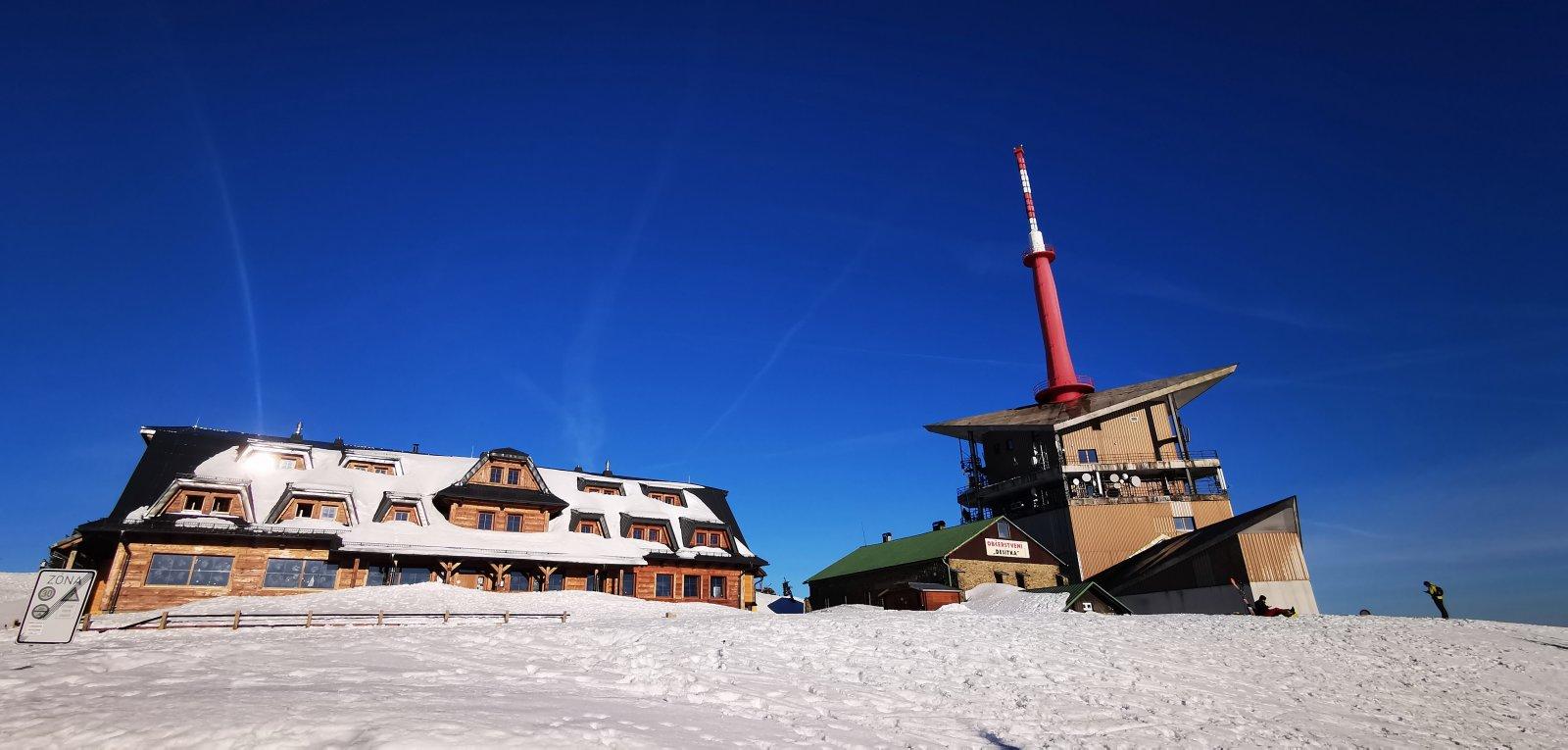 Jiří Nesit na vrcholu Lysá hora (17.2.2019 6:44)