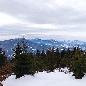 Jirka M. na vrcholu Lysá hora (9.2.2019 11:51)