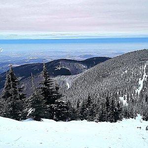 Jiří Nesit na vrcholu Lysá hora (24.2.2019 6:43)