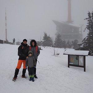 Kahys, Kahyska a Kahysčata na vrcholu Lysá hora (24.2.2019 12:34)