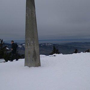 Petra na vrcholu Lysá hora (24.2.2019 9:30)