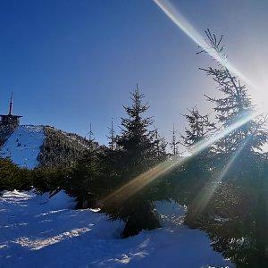 Jiří Nesit na vrcholu Lysá hora (27.2.2019 15:27)