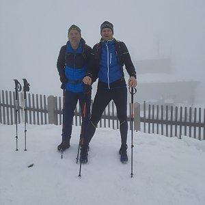 MUDr.Svatopluk Kunčar na vrcholu Lysá hora (18.4.2021 11:03)