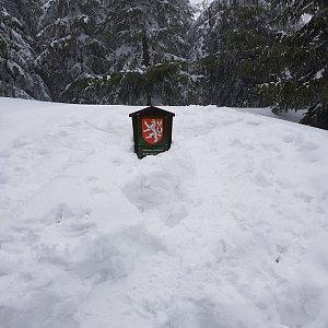 Folle na vrcholu Lysá hora (18.4.2021 8:08)