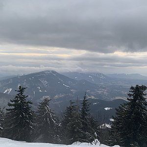 Pavlaja na vrcholu Lysá hora (3.3.2019 18:38)